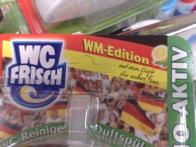 Riecht nach Schweiß und Bier: Der WM-Klostein