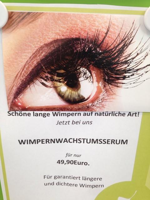 wimpern