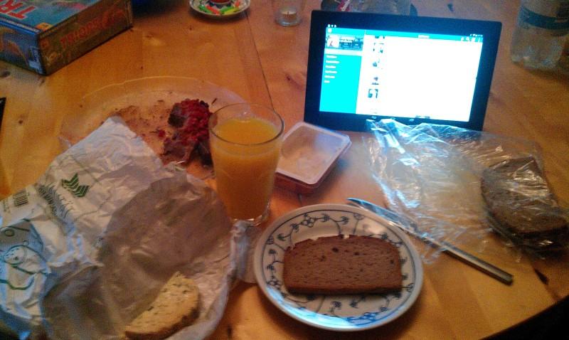 Das Frühstück. Eine der 8 wichtigesten Mahlzeiten des Tages.