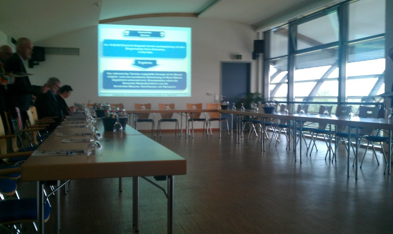 Ab 18.30 der letzte termin des Tages: Hauptausschuss-Sitzung in Büsum