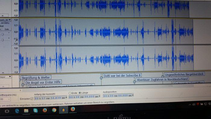 12v12: Podcast schneiden