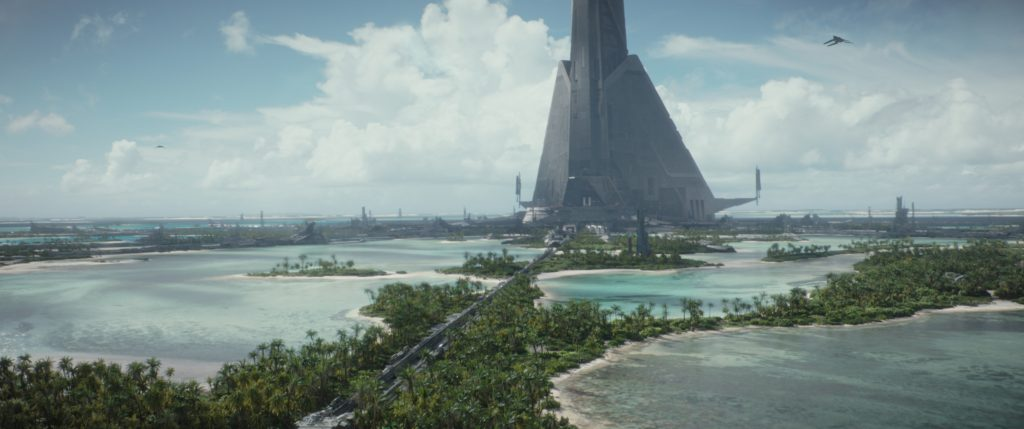 Rogue One: A Star Wars Story..Scarif..Photo credit: Lucasfilm/ILM..©2016 Lucasfilm Ltd. All Rights Reserved.