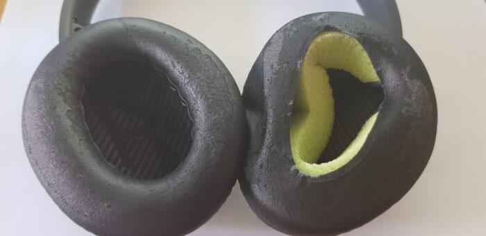 kaputte Ohrpolster meiner Kopfhörer